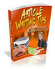 Article Writing TIps - Turn Your Words Into Cash