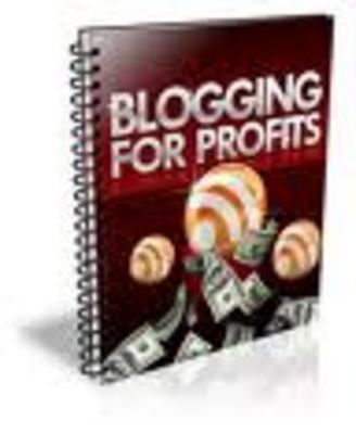 Product picture Blogging for Profits
