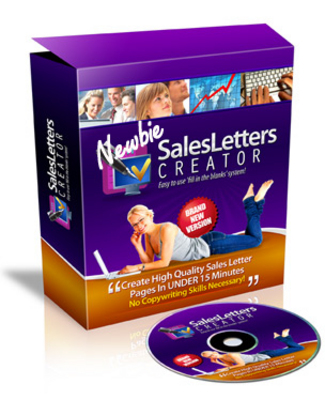 Product picture Newbie Sales Letter Creator - In Less Than 15 Minutes